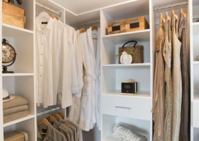 wardrobe staging