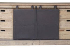 Barn Door Sideboard Buffet