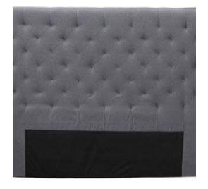Headboard Diamond Tufted Upholstered Super King