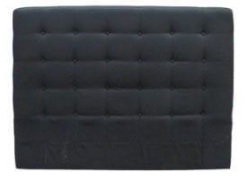 Headboard Squared Buttoned Upholstered Super King