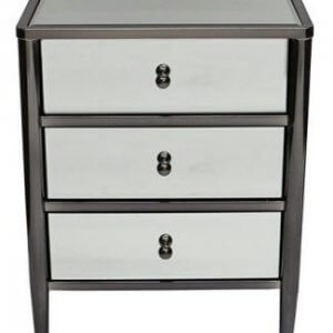 Mirror Bedside Lamp Table